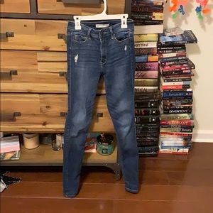 High waisted Abercrombie jeans